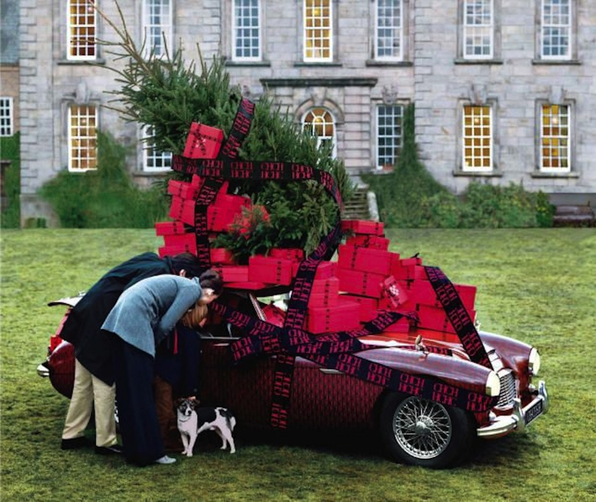 Carolina Herrera - Car & Christmas presents